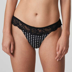 Prima Donna Madison Thong In Crystal Black