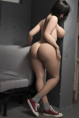 Big Ass Brunette Sex Doll - 163cm - USA Warehouse - RSD16302