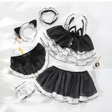 Sexy Maid Uniform for Lolita - Transparent Lingerie Cosplay