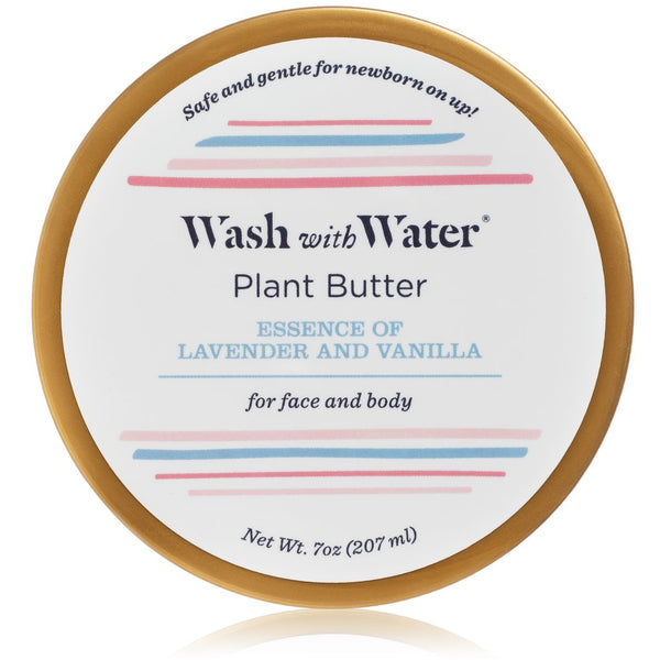 Plant Butter | Lavender + Vanilla | Wash with Water