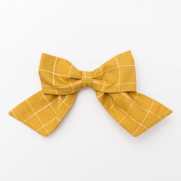 *NEW* Classic Bow | Mustard Check