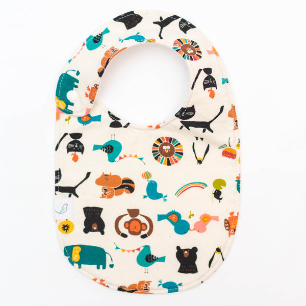 *NEW* Charlie Bib // Animal Parade