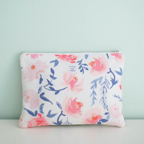 The HB Clutch // Watercolor