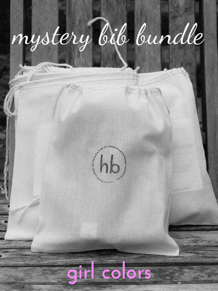 Mystery Charlie Bib Bundle - Girl Colors