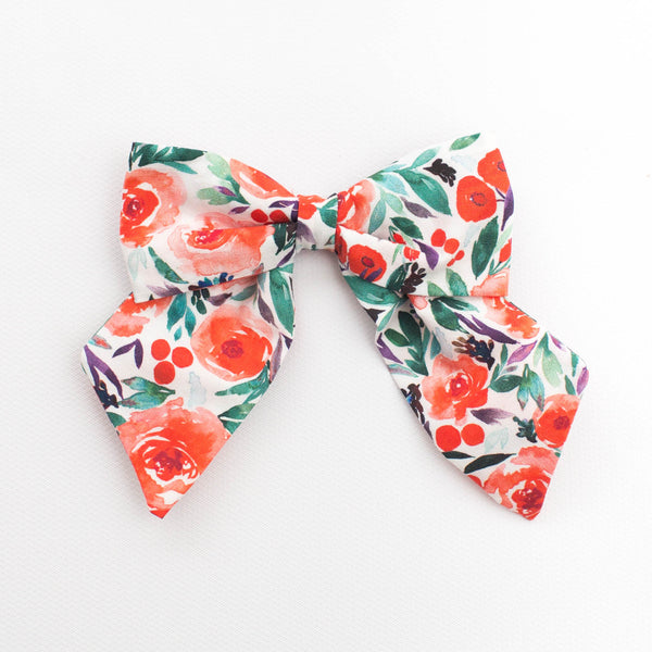 *NEW* Classic Bow | Winter Floral
