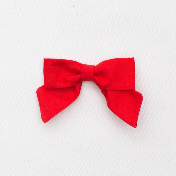 *NEW* Holiday Petite Bow | Poppy