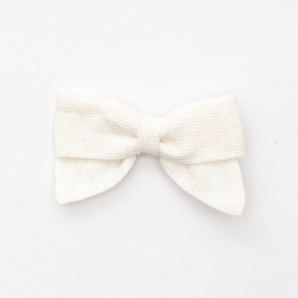 Holiday Petite Bow | Sparkle Linen