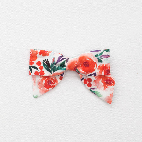 *NEW* Holiday Petite Bow | Winter Floral