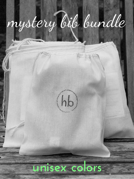 Mystery Charlie Bib Bundle - Unisex Colors