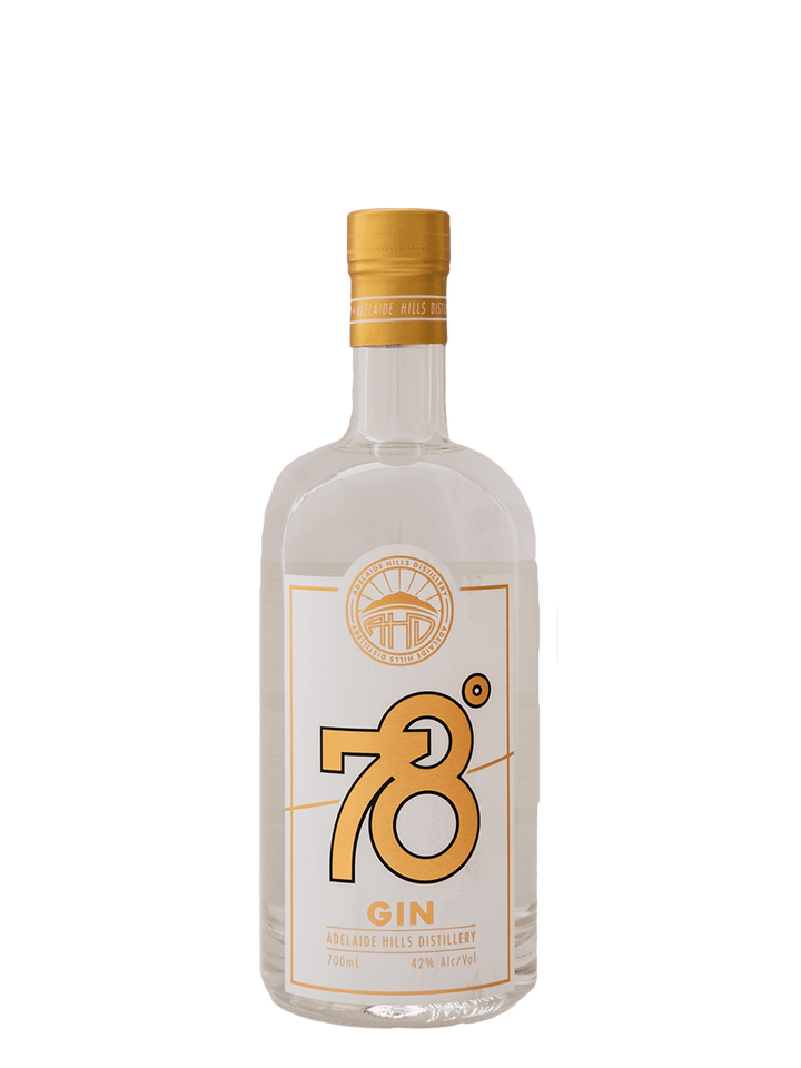 78 Degrees Adelaide Hills Dry Gin - Rascal Brunswick | Wine Bar + Bottle Shop