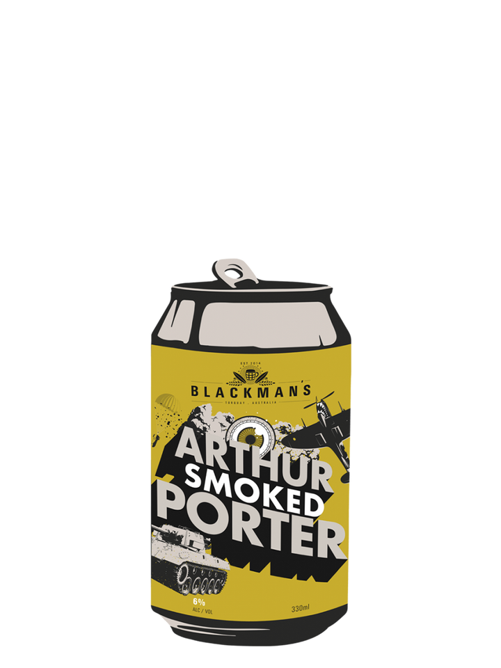 Blackman's Arthur Smoked Porter | 6.3% ABV - Rascal Brunswick | Wine Bar + Bottle Shop