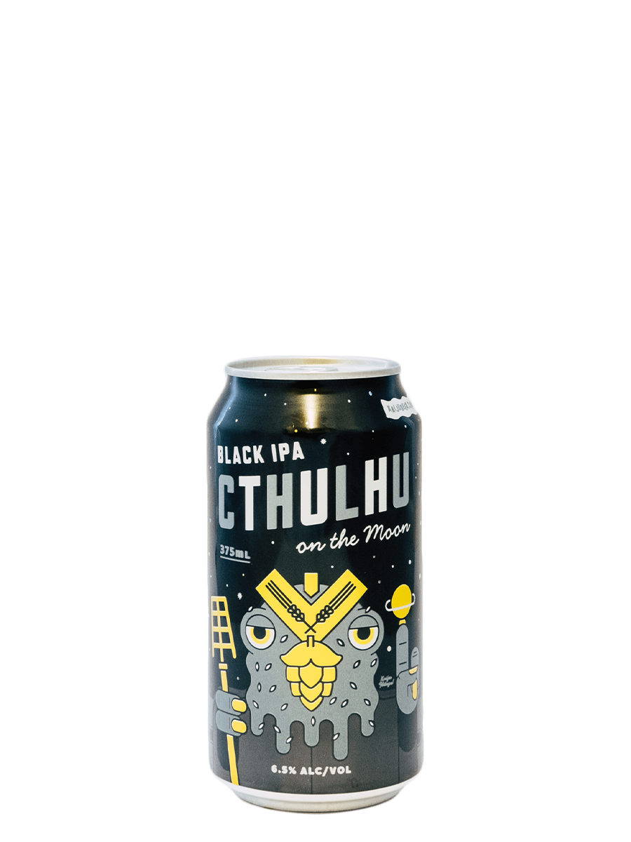 Cthulhu On The Moon Black IPA | 6.5% ABV - Rascal Brunswick | Wine Bar + Bottle Shop