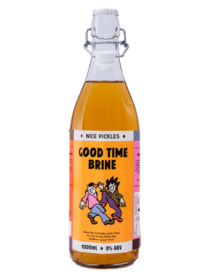 Good Time Brine -1L - Rascal Brunswick | Wine Bar + Bottle Shop