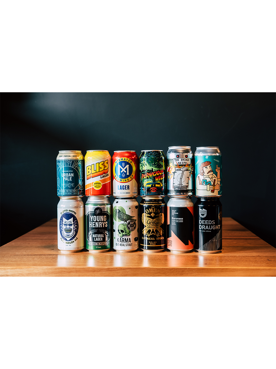 Mixed Beer Pack - Rascal Brunswick | Wine Bar + Bottle Shop