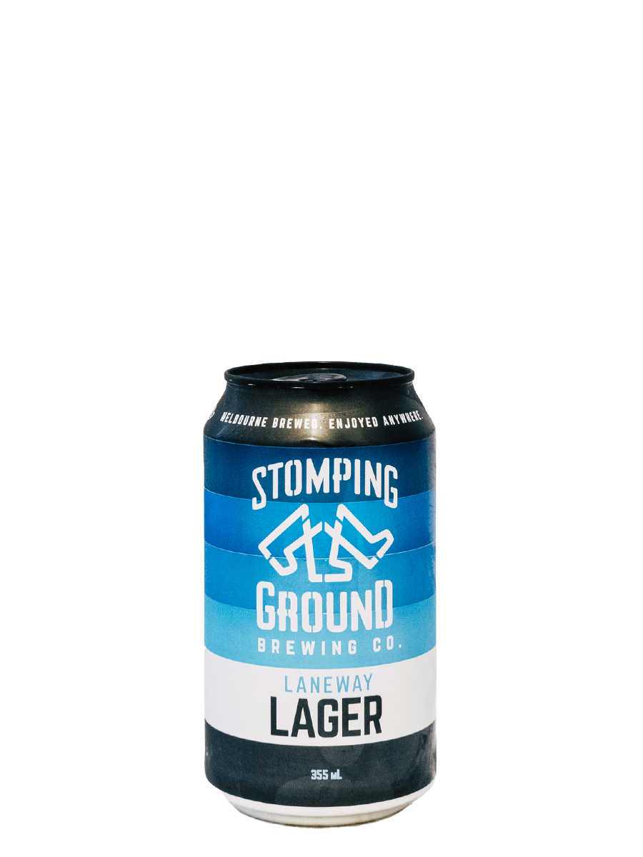 Stomping Ground Laneway Lager | 4.7% - Rascal Brunswick | Wine Bar + Bottle Shop