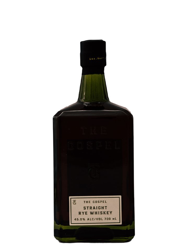 Gospel Straight Rye Whisky - 700ml - Rascal Brunswick | Wine Bar + Bottle Shop