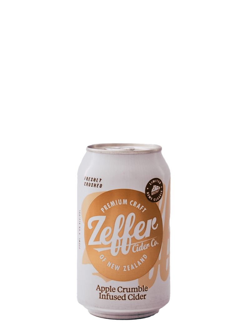 Zeffer Cider Co Apple Crumble Cider | 5.4% ABV - Rascal Brunswick | Wine Bar + Bottle Shop