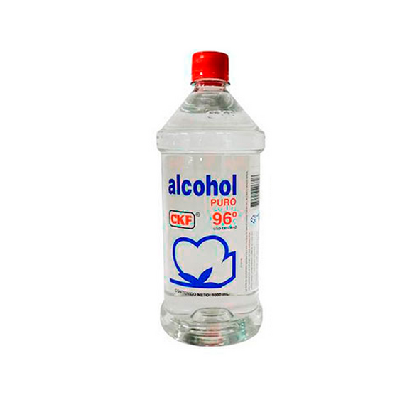 Alcohol liquido CFK 96° 1000 ml