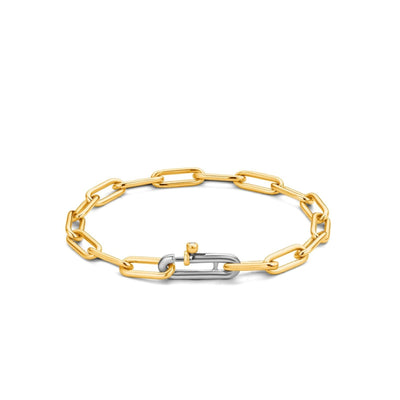 Small Paperclip Bracelet by TI SENTO - West Orange Jewelers
