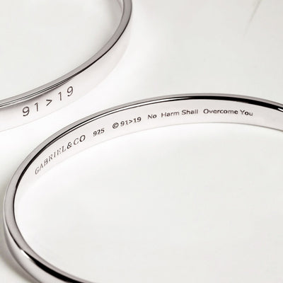91>19 Sterling Silver Bangle - West Orange Jewelers, Parsippany NJ