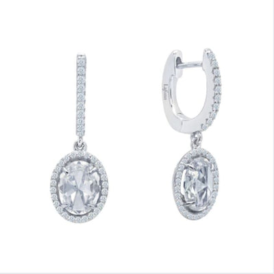 Oval Drop Earrings by Lafonn - West Orange Jewelers, Parsippany NJ