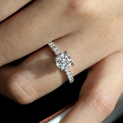 Engagement Ring – Hidden Halo by Gabriel&Co. - West Orange Jewelers