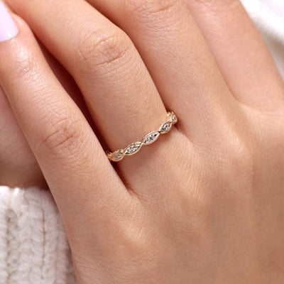 Marquise Shape Stackable Ring by Gabriel&Co. - West Orange Jewelers, Parsippany NJ