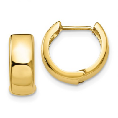 YG Huggie Earrings - West Orange Jewelers, Parsippany NJ