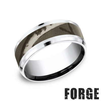 Camo Wedding Band by Benchmark - West Orange Jewelers, Parsippany NJ