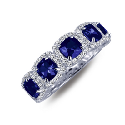 Sapphire Halo Band by Lafonn - West Orange Jewelers, Parsippany NJ