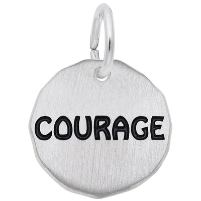 Courage Charm - West Orange Jewelers, Parsippany NJ