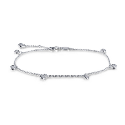 Dangle Anklet by Lafonn - West Orange Jewelers, Parsippany NJ