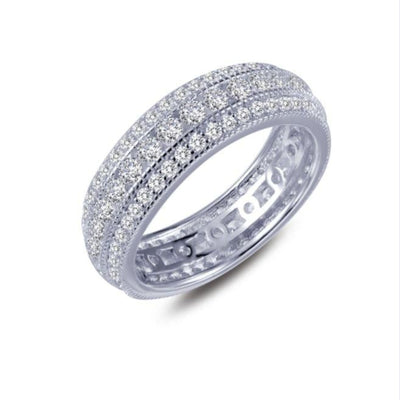 Three-row Eternity Band by Lafonn - West Orange Jewelers, Parsippany NJ