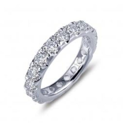 3.23ct Eternity Ring by Lafonn - West Orange Jewelers