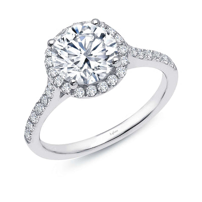 Halo Engagement Ring by Lafonn - West Orange Jewelers