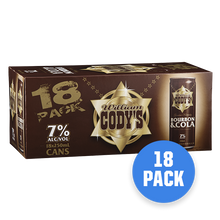 Load image into Gallery viewer, Codys 7% Bourbon & Cola 18 pack - Drinks Trolley Asahi | NZ