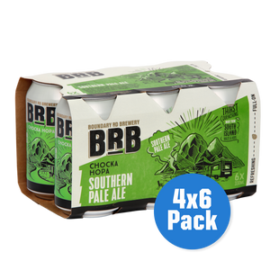 BRB Chocka Hopa Southern Pale Ale 4 x 6 pack - Drinks Trolley | Asahi NZ