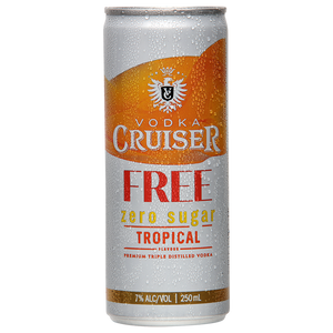 Vodka Cruiser 7% Tropical Sugar Free 12 pack - Drinks Trolley | Asahi NZ