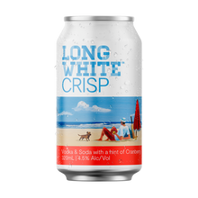 Load image into Gallery viewer, Long White Crisp Vodka Soda Cranberry 10 pack - Drinks Trolley Asahi | NZ