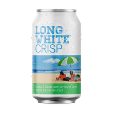 Load image into Gallery viewer, Long White Crisp Vodka Soda Lime 10 pack - Drinks Trolley | Asahi NZ