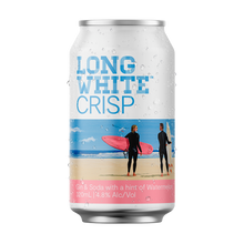 Load image into Gallery viewer, Long White Crisp Gin Soda Watermelon 10 pack - Drinks Trolley | Asahi NZ