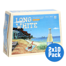 Load image into Gallery viewer, Long White Passionfruit 2 x 10 pack - Drinks Trolley Asahi | NZ