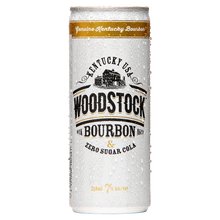 Load image into Gallery viewer, Woodstock 7% Zero Sugar Bourbon & Cola 12 pack - Drinks Trolley Asahi | NZ