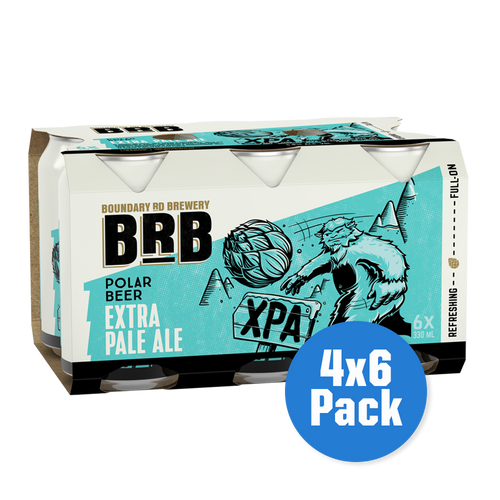 BRB Polar Beer Extra Pale Ale 4 x 6 pack - Drinks Trolley Asahi | NZ