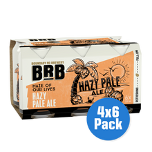 Load image into Gallery viewer, BRB Hazy Pale Ale 4 x 6 pack - Drinks Trolley | Asahi NZ