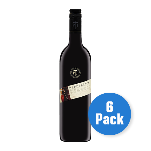 Pepperjack Barossa Valley Shiraz 6 bottles - Drinks Trolley | Asahi NZ