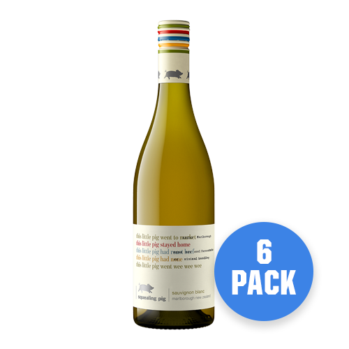 Squealing Pig Marlborough Sauvignon Blanc 6 bottles - Drinks Trolley | Asahi NZ