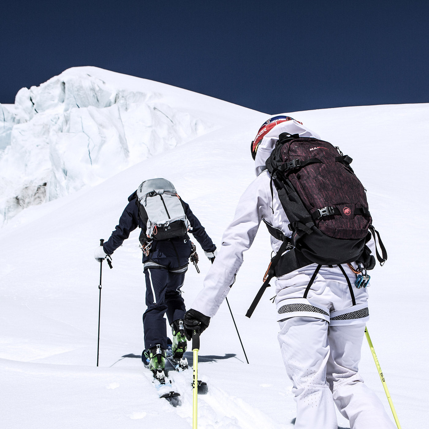 mammut australia new zealand skiing backpacks