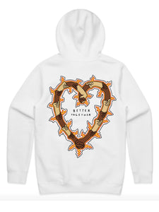 'Better Together' Hoodie - White