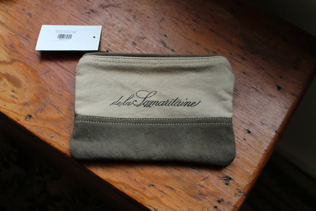 Cologne Canvas Pouch
